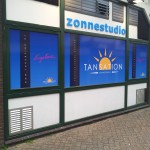 Full color belettering Tansation Huizen