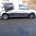 Belettering VW Caddy