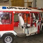 Bestickering Tuk Tuk park GPS-Buddy
