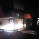 Buffing Optiek Loosdrecht beletterde bord
