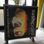 Lichtbak print to plate SushiPoint