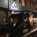 RVS freesletters met led verlichting