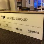 NH Hotels balie