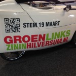 Belettering Groen Links
