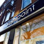 Plexiglas freesletters SushiPoint Rotterdam