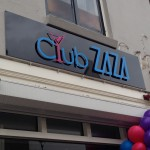 Freesletters op plaat Club Zaza Amersfoort