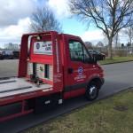 APK Service Veenendaal oprijwagenbelettering