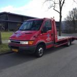 Autobelettering oprijwagen APK Service Veenendaal